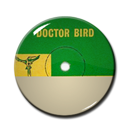 "Dr. Bird 1"" Pin"