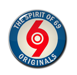 "Originals - Spirit of '69 1"" Pin"