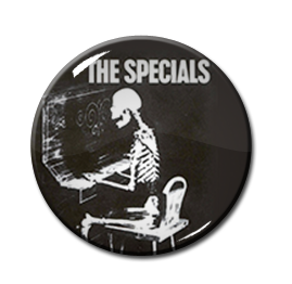 "The Specials - Ghost Town 1"" Pin"