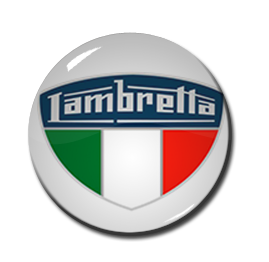 "Lambretta Badge 1"" Pin"