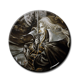"Vampire Hunter D - Alucard 1.5"" Pin"