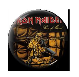 """Iron Maiden - Piece of Mind 1"""" Pin"""