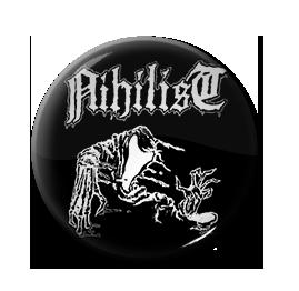 """Nihilist - (Pre-Entombed) 1"""" Pin"""