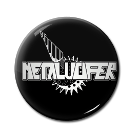 "Metalucifer - Logo 1"" Pin"