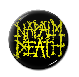 "Napalm Death - Logo 1"" Pin"