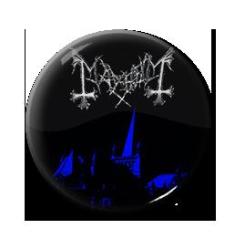 """Mayhem - De Mysteriis Dom Sathanas 1"""" Pin"""