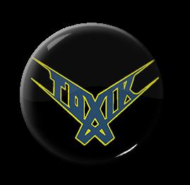 """Toxik - Logo 1"""" Pin"""