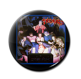 "Tankard - Zombie Attack 1"" Pin"