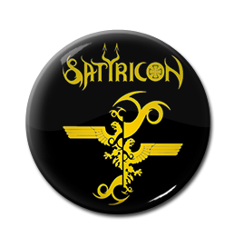 "Satyricon - Eagle Logo 1"" Pin"