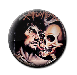"Sarcofago - Rotting 1"" Pin"