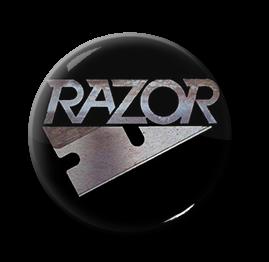 """Razor - Logo 1"""" Pin"""