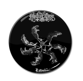 "Mutiilation - Rattenkonig 1"" Pin"
