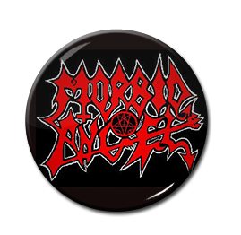 "Morbid Angel - Logo 1"" Pin"
