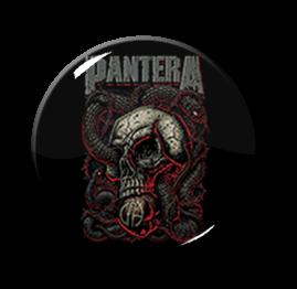 """Pantera - Skull 1"""" Pin"""