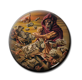 "Helloween - Walls of Jericho 1"" Pin"