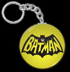 """Batman 60's Logo 1.5"""" Keychain"""