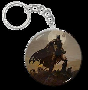 """Zombie Batman 1.5"""" Keychain"""