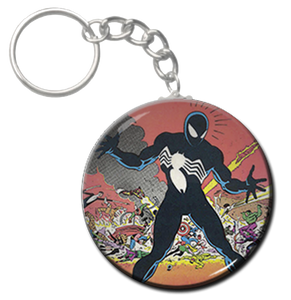 "Spiderman Black Suit 1.5"" Keychain"