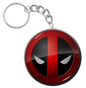 "Deadpool 1.5"" Keychain"