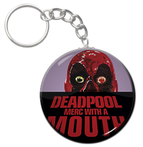 "Deadpool - Merc with a Mouth 1.5"" Keychain"
