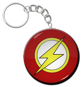 "Flash - Logo 1.5"" Keychain"