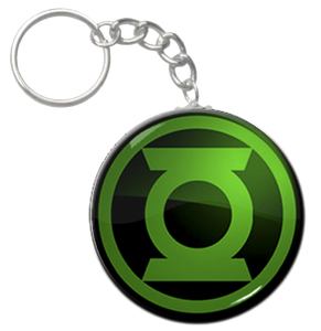 "Green Lantern Logo 1.5"" Keychain"