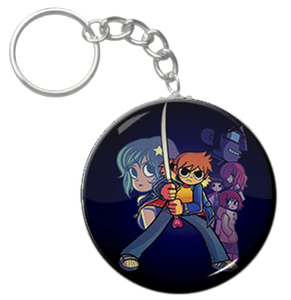 "Scott Pilgrim vs. the World 1.5"" Keychain"