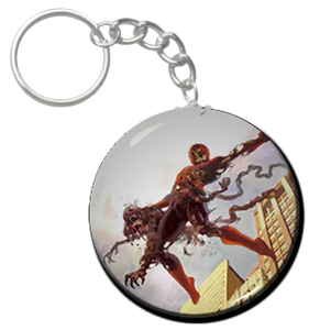 "Zombie Spiderman 1.5"" Keychain"