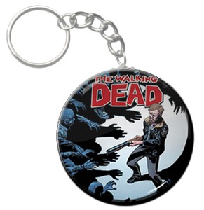 "The Walking Dead 1.5"" Keychain"