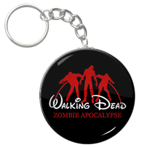 "The Walking Dead Zombie Apocalypse 1.5"" Keychain"