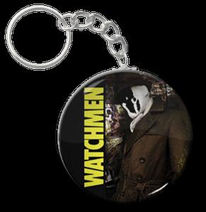 """Watchmen Rorschach 1.5"""" Keychain"""