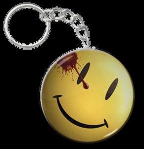 "Watchmen Happy Face 1.5"" Keychain"