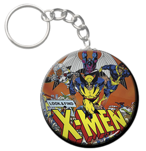 "X-Men 1.5"" Keychain"