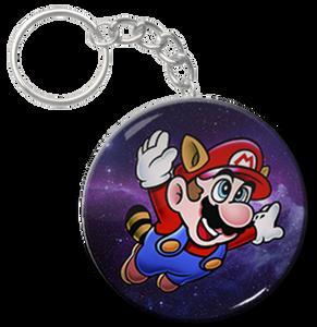 "Mario 1.5"" Keychain"