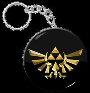 "Triforce 1.5"" Keychain"