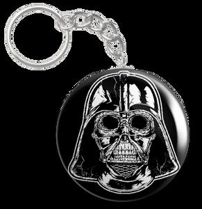 """Star Wars Darth Vader Skull 1.5"""" Keychain"""
