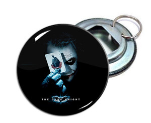 "The Joker 2.25"" Metal Bottle Opener Keychain"