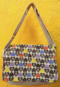 Antifashion - Shoulder Bag Heart Print