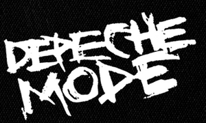 "Depeche Mode Logo 7x5"" Printed Patch"