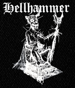 "Hellhammer Demon 4x6"" Printed Patch"