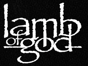 "Lamb of God Logo 6x5"" Printed Patch"
