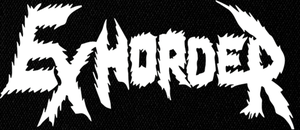"Exhorder Logo 8x4"" Printed Patch"