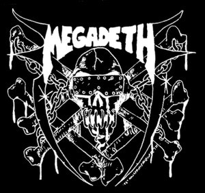 "Megadeth Last Rites 7x6"" Printed Patch"