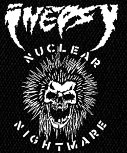 "Inepsy Nuclear Nightmare 4x6"" Printed Patch"