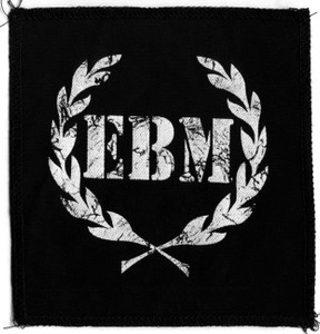 "EBM Olive Wrath 6x5"" Printed Patch"