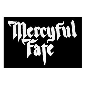 "Mercyful Fate Logo 6x5"" Printed Patch"