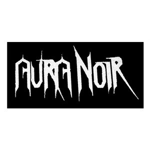 "Aura Noir Logo 6x4"" Printed Patch"