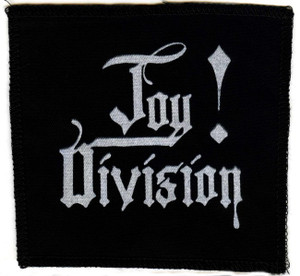 "Joy Division -  Logo 5x5"" Printed Patch"