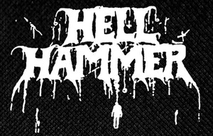 "Hellhammer Logo 6x4"" Printed Patch"