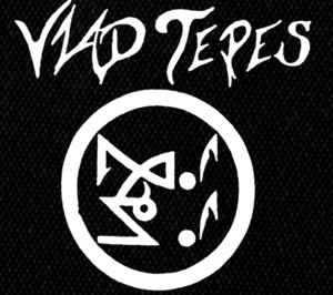 "Vlad Tepes Circle Logo 6x6"" Printed Patch"